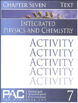 Integrated Physics and Chemistry Chapter 7 Activities