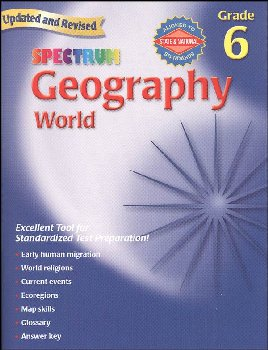 Spectrum Geography Gr. 6 - World