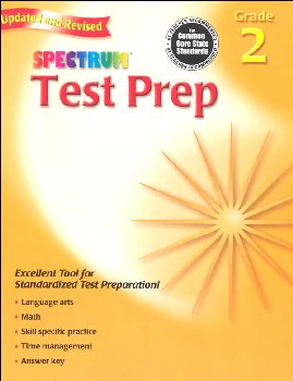Spectrum Test Preparation Grade 2