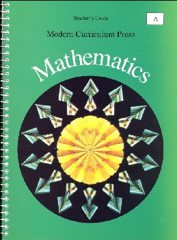 MCP Math Level A Teacher's Guide 1994