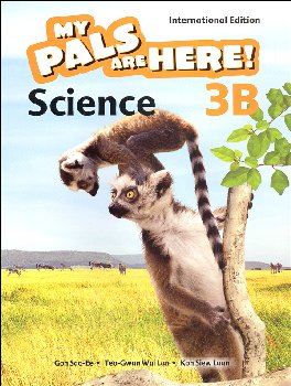 My Pals Are Here! Science International Edition Textbook 3B