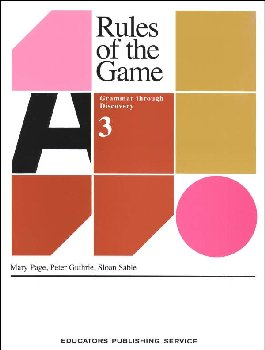 Rules of the Game Book 3