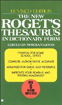 New Roget's Thesaurus (General Edition)