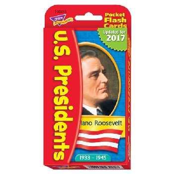 Presidents Pocket Flash Cards