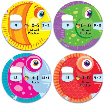 Math Wheels: Addition Facts