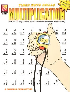 Timed Math Drills - Multiplication