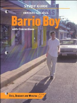 Barrio Boy Study Guide