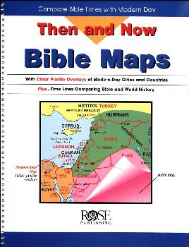 Then & Now Bible Maps Book