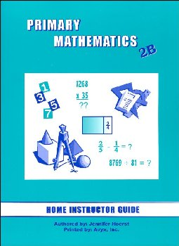 Primary Math US 2B Home Instructor Guide for 3rd edition