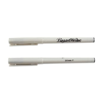 Elegant Writer Black Marker - 2.0mm (Fine Point)