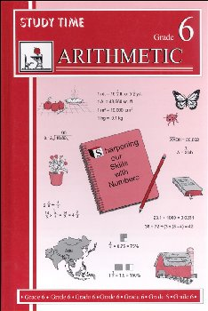 Study Time Arithmetic - Textbook, Grade 6