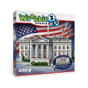 White House 3D Puzzle (490 pieces)