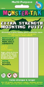 Monster Tak Extra Strength Mounting Putty