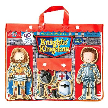 Knights Kingdom Wooden Magnetic Dolls