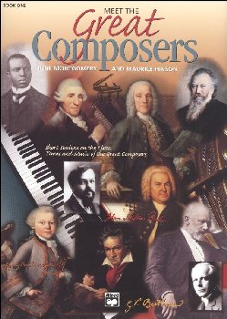 Meet the Great Composers Book 1 Only