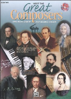 Meet the Great Composers Book 2 w/ CD