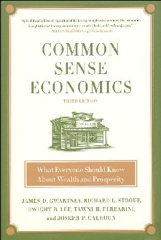 Common Sense Economics:What Everyone Shld Knw