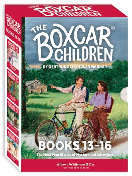 Boxcar Children Mysteries Boxed Set #13-16