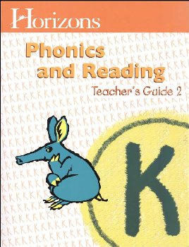 Horizons K Phonics and Reading Teacher Guide Book 2
