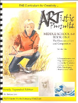 ARTistic Pursuits Middle School Gr 6-8 Book One 3rd ed - Elements of Art and Composition
