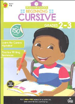 Beginning Cursive (Skills for School)