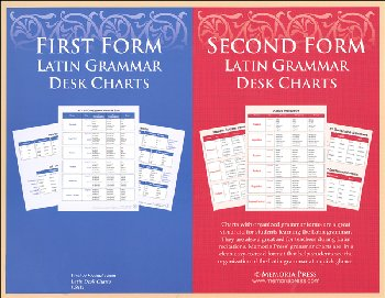 First & Second Form Desk Charts