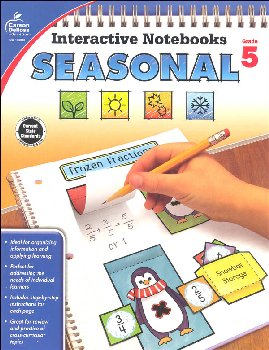 Interactive Notebooks: Seasonal - Grade 5