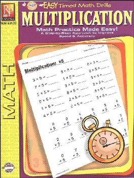 Multiplication (Easy Timed Math Drills)