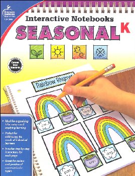 Interactive Notebooks: Seasonal - Kindergarten