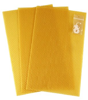 Honeycomb Sheets (3) with Candlewick
