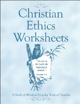 Christian Ethics Worksheets