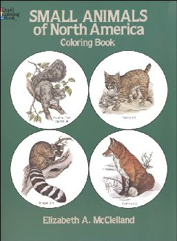 Small Animals of North America Coloring Book