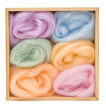 Woolpets Wool Roving (1.5 oz bag) - Spring