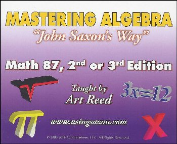 Mastering Algebra - Math 87 DVD (2nd or 3rd Edition)