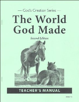 World God Made Teacher Manual Second Edition