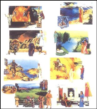 Old Testament Bible Stories Quiet Book