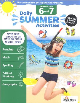 Daily Summer Activities 6-7