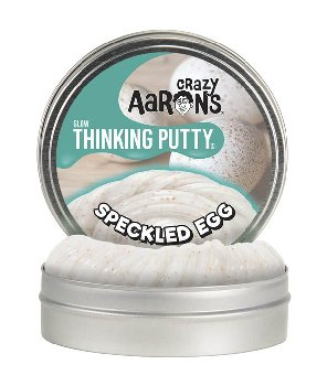 "Speckled Egg Putty 4"" Tin with Glow Charger"