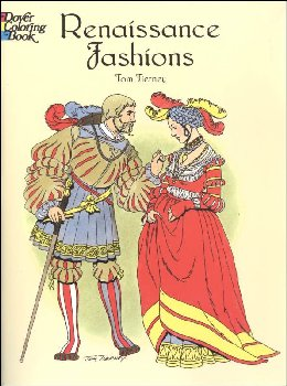 Renaissance Fashions Coloring Book