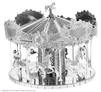 Merry Go Round (Metal Earth 3D Model)