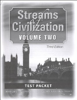 Streams of Civilization Volume Two Test Booklet Third Edition