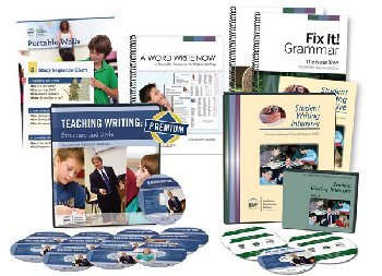 Deluxe Teaching Writing/Student Writing Intensive Combo Pack A (with Fix-It! Grammar 1 & 2; Portable Wall; And Word Writ