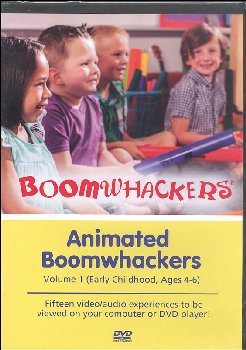 Animated Boomwhackers DVD Volume 1