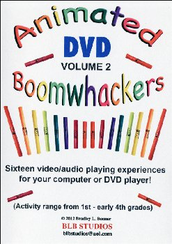 Animated Boomwhackers DVD Volume 2