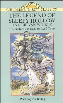 Legend of Sleepy Hollow/Rip Van Winkle (Thrift Edition)