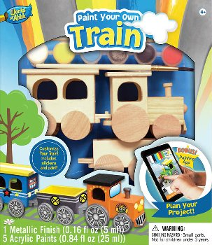 Choo Choo Train Wood Painting Kit
