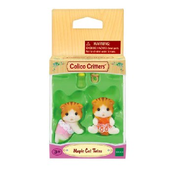 Maple Cat Twins (Calico Critters)