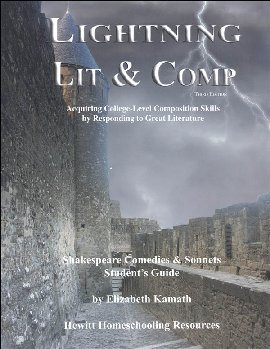 Lightning Literature & Composition Shakespeare Comedies and Sonnets Student Guide