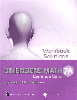 Dimensions Mathematics Workbook Solutions 7A