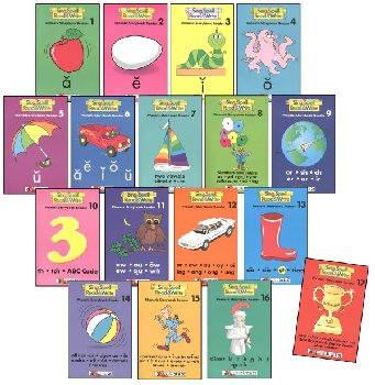 Phonetic Storybook Readers - Set of 1-17 Homeschool Edition